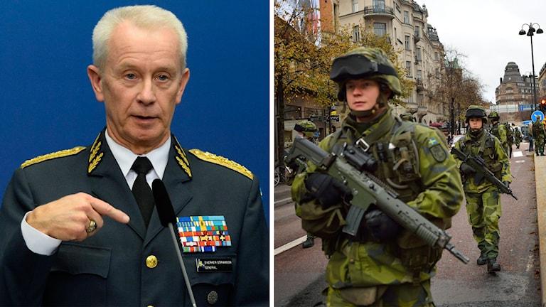 Överbefälhavare Sverker Göranson. Foto: TT