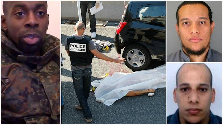 Terroristerna som mördade 16 och tog flera som gisslan i Paris.