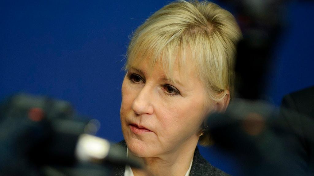 Margot Wallström. Foto: Annika af Klercker/TT.
