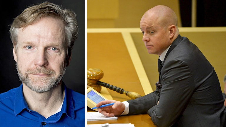 Foto: Sveriges Radio samt Henrik Montgomery/TT.