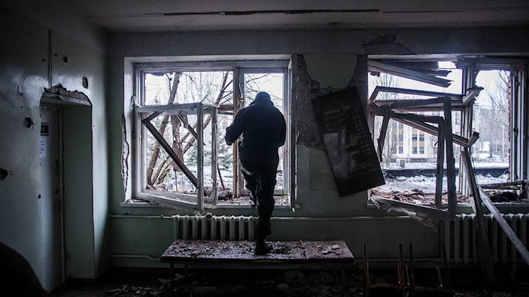 Donetsk. Foto: Manu Brabu/TT