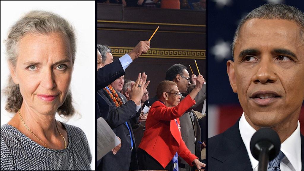 Barack Obama, State of the union, Inger Arenander