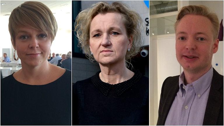 katrin Stjernfeldt Jammeh Boel Godner och Torbjörn Tegnhammar