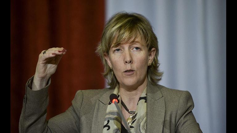 Portugals finansminister Maria Luis Albuquerque. Foto: Patricia De Melo Mereira/TT