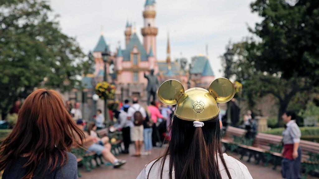 Disneyland i delstaten Kalifornien i USA. Foto. AP Photo / Jae C. Hong / TT.