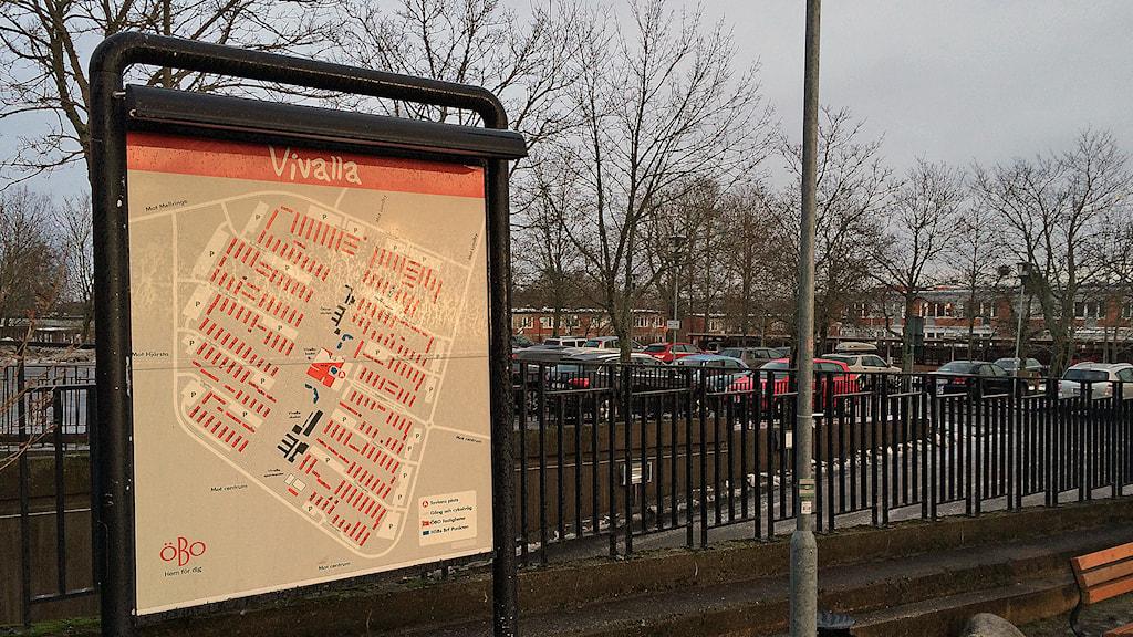Miljonsprogrammet Vivalla i Örebro. Foto: Marcus Eriksson / Sveriges Radio.
