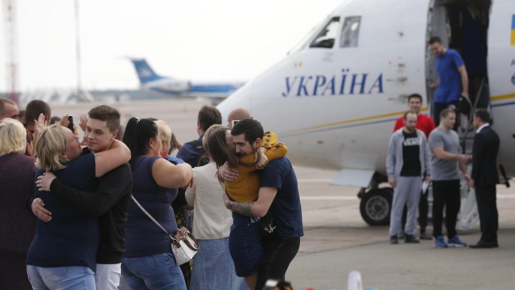 Fångutväxlingen Ryssland Ukraina