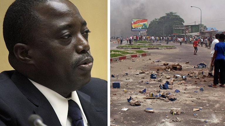 Joseph Kabila är president i Kongo-Kinshasa. Foto: TT