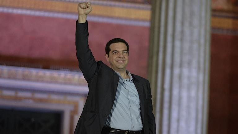 Alexis Tsipras. Foto: LOUISA GOULIAMAKI/TT