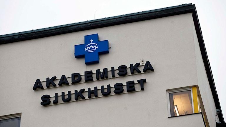 Akademiska sjukhuset i Uppsala. Akademiska Sjukhuset i Uppsala. Foto: Henrik Montgomery/TT.