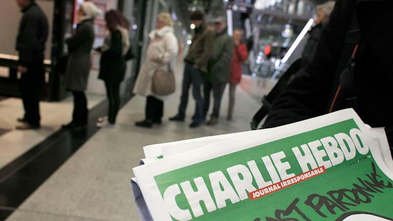 Hoten mot yttrandefriheten kommer inte bara från extrema islamister. Foto: Christophe Ena/TT.