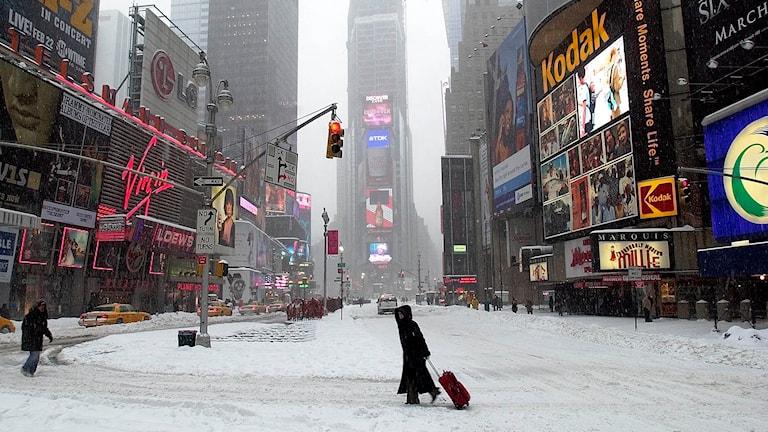 Snö i New York