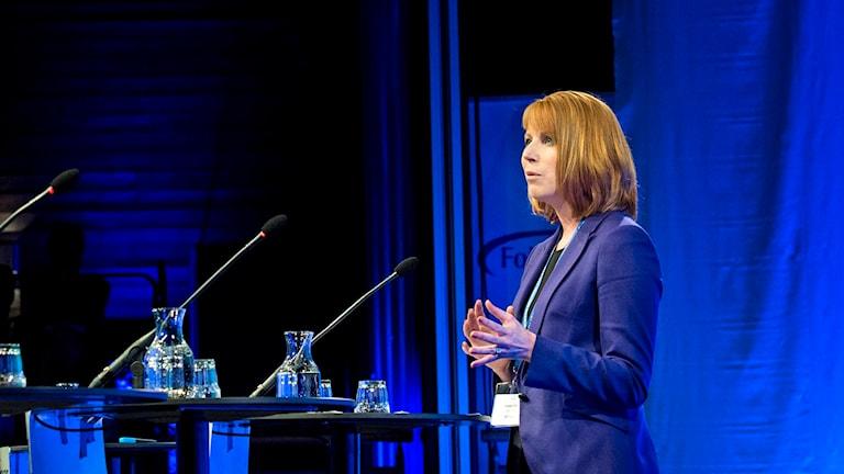 Annie Lööf. Foto: Pontus Lundahl/TT.