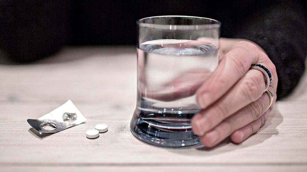 värktablett paracetamol piller alvedon
