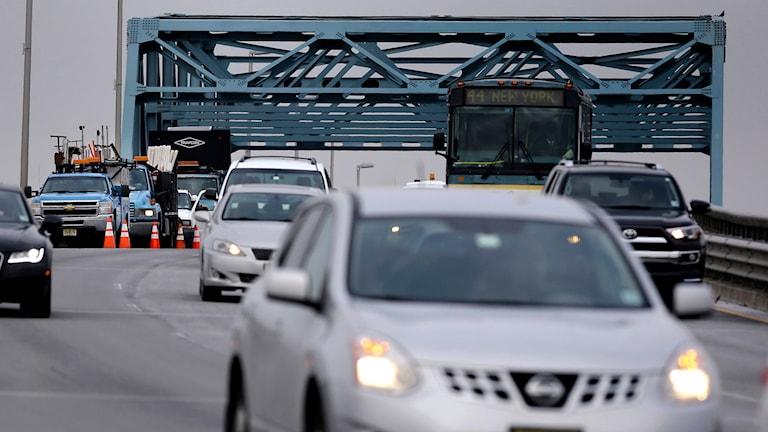 Biltrafik i USA. Foto: TT