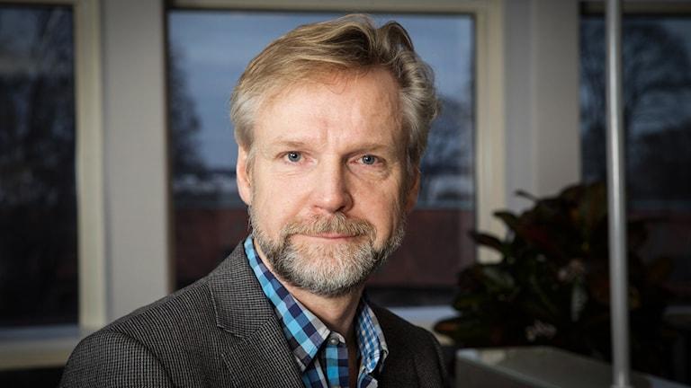Tomas Ramberg, inrikespolitisk kommentator på Ekot. Foto: Pablo Dalence/Sveriges Radio.