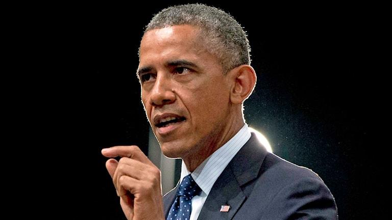 USA:s president Barack Obama. Foto: Carolyn Kaster/AP.