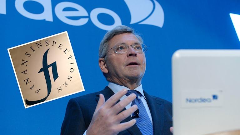 Nordeas vd, Christian Clausen, finansinspektionen FI. Foto: TT