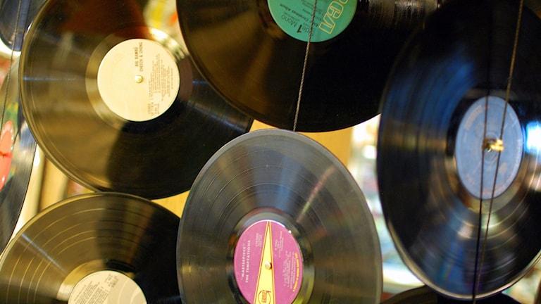 Vinylskivor. Foto: Vinyl, Steve Snodgrass (www.flickr.com/photos/stevensnodgrass/) licens CC BY 2.0