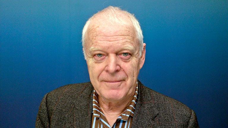 Människorättsveteranen Thomas Hammarberg leder Kommission mot antiziganism. Foto: Ola Westerberg / TT.