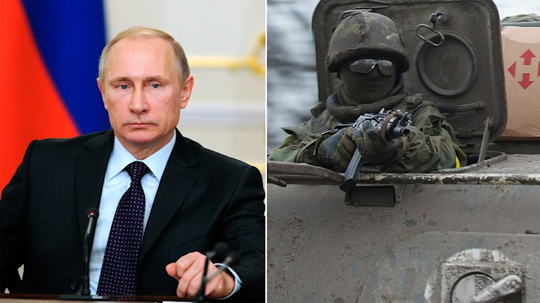 Putin, Ukraina