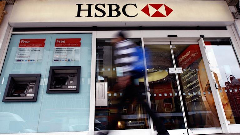 Banken HSBC. Foto: TT