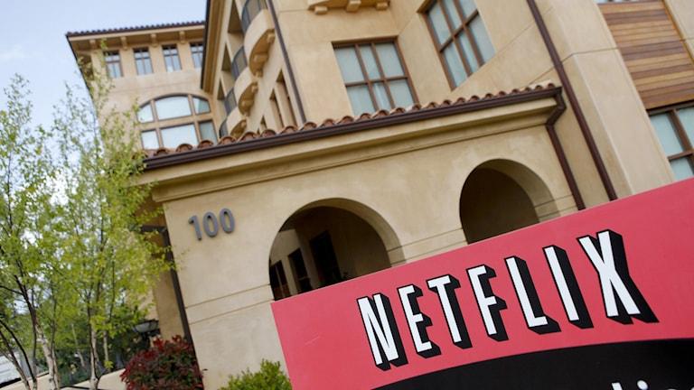 Netflix huvudkontor. Foto: Ryan Anson/AFP.