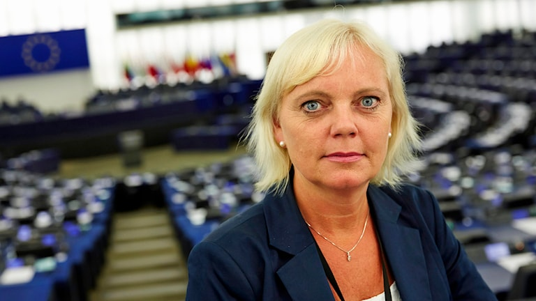 Kristina Winberg (SD). Foto: Fredrik Persson/TT.