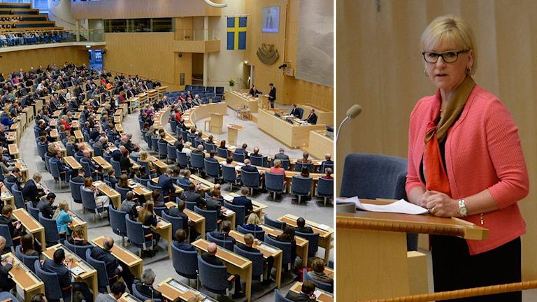 Utrikesminister Margot Wallström. Foto: TT