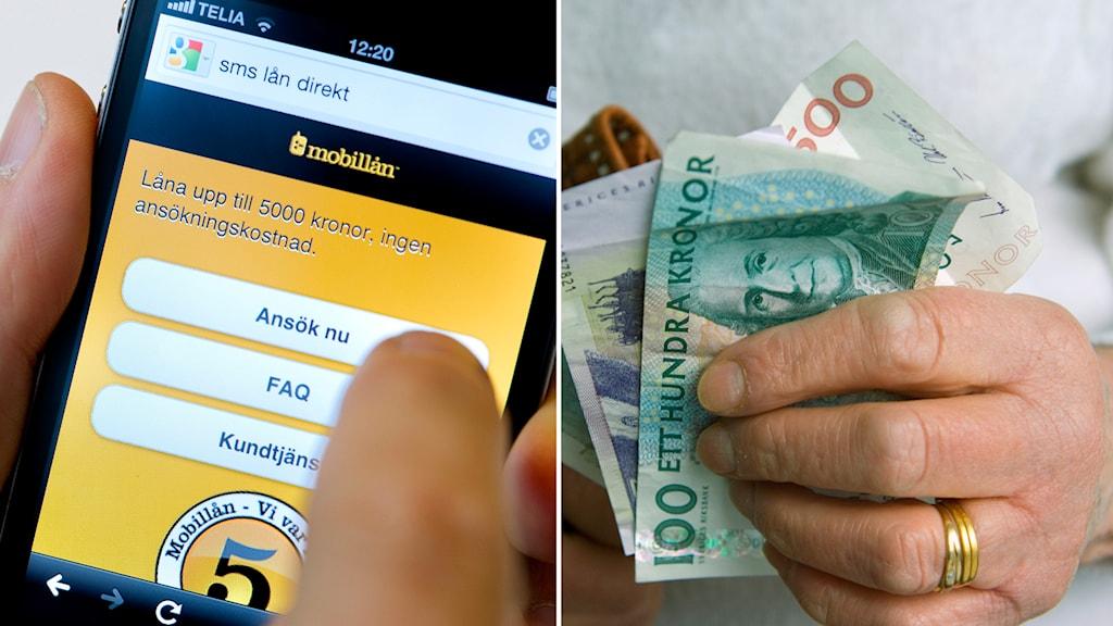 Snabblån, sms-lån, skuld, pengar