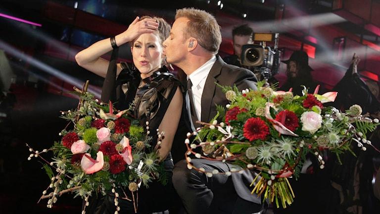Magnus Carlsson and Mariette. Photo: Ola Torkelsson/TT.