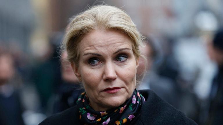 Danska statsministern Helle Thorning-Schmidt. Foto: Thomas Broberg/AP.