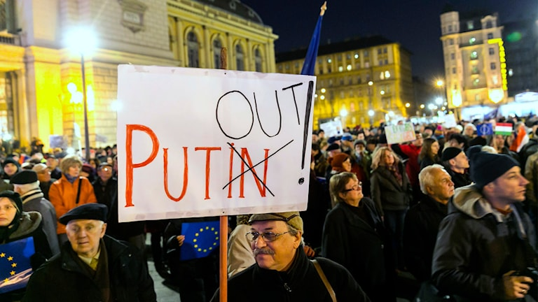 Ungern, Ryssland, möte