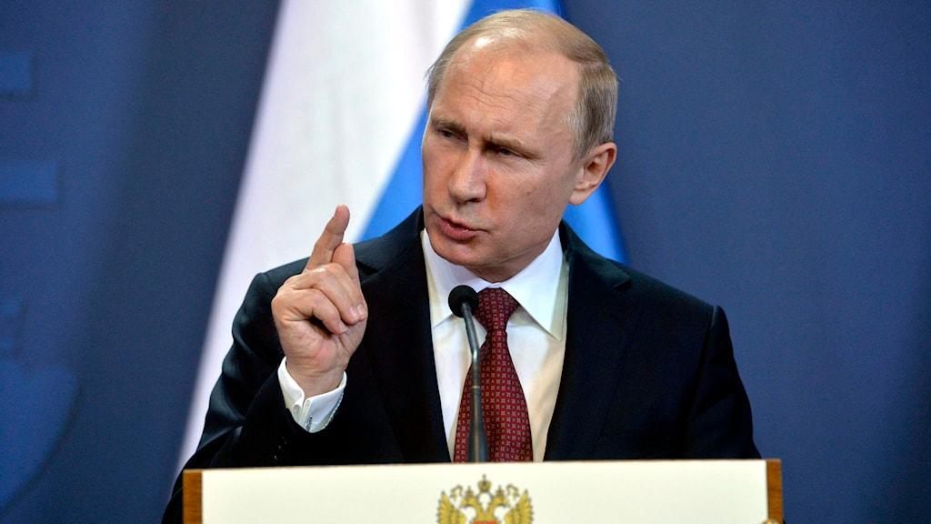 Rysslands president Vladimir Putin. Foto: Szilard Koszticsak