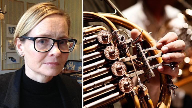 Gitte Wille, Region Skånes kulturchef. Foto: David Richter och TT