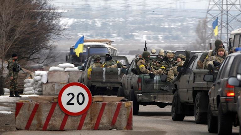 Mariupol, i östra Ukraina. Foto: TT