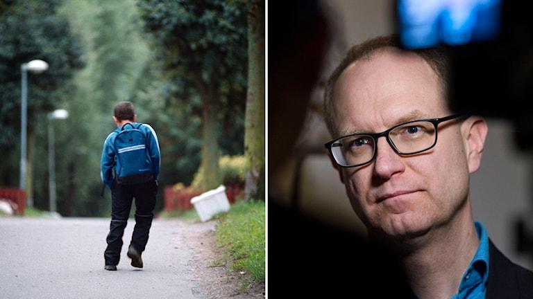 Barnombudsmannen, Fredrik Malmberg, om ensamkommande asylbarn som försvinner. Foto: TT