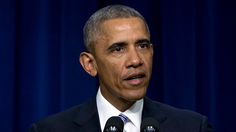 USA:s president Barack Obama. Foto: Carolyn Kaster/TT.