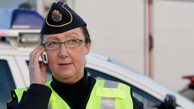 Ewa-Gun Westford som är informatör på Skånepolisen.