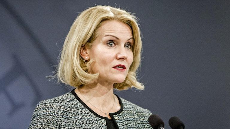 Danmarks statsminister Helle Thorning-Schmidt. Foto: Simon Skipper/AFP.