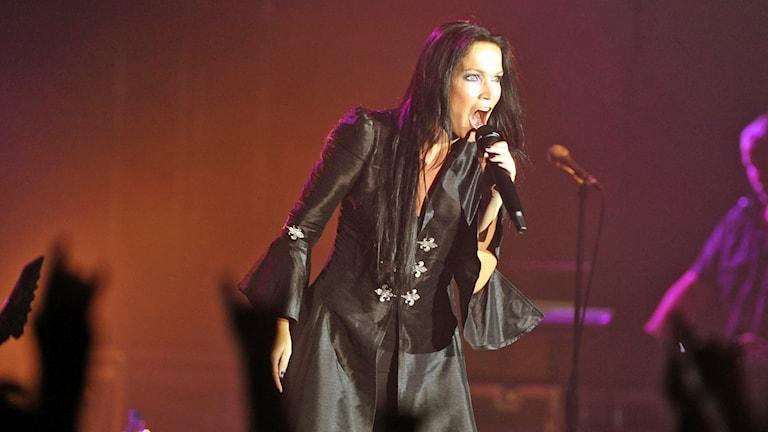 Tarja Turunen sjöng tidigare i det framgångsrika finska bandet Nightwish. Foto: AP.