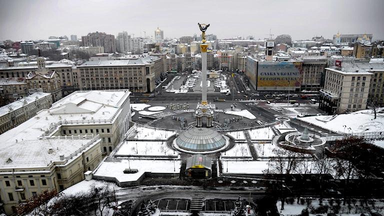 Torget Majdan i Kiev. Foto: TT