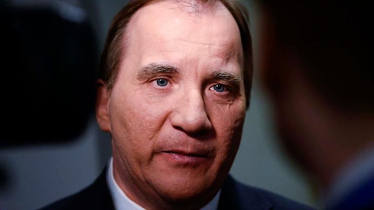Statsminister och partiledare Stefan Löfvén (S). Foto: Maja Suslin /TT.