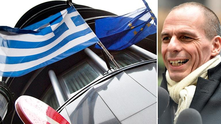 Greklands finansminister Yanis Varoufakis. Foto: TT