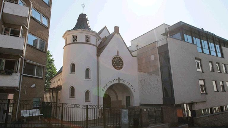 Synagogan i Oslo. Foto: TT.