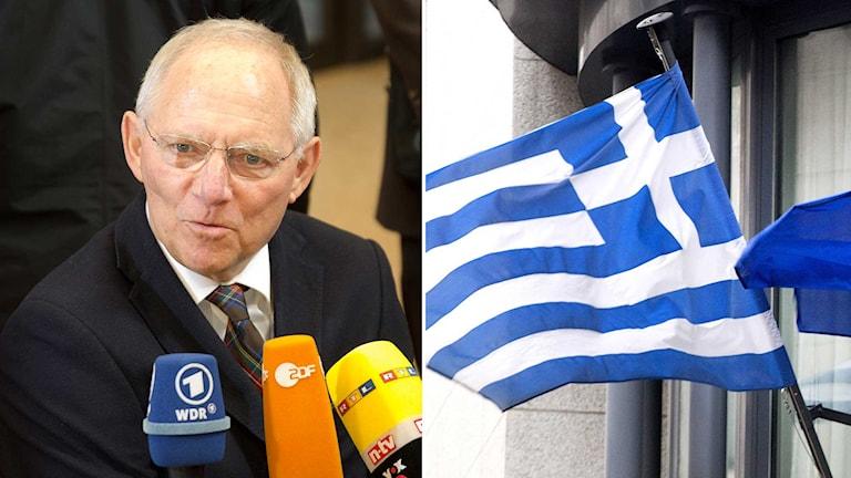 Den tyske finansministern Wolfgang Schäuble. Foto: TT.