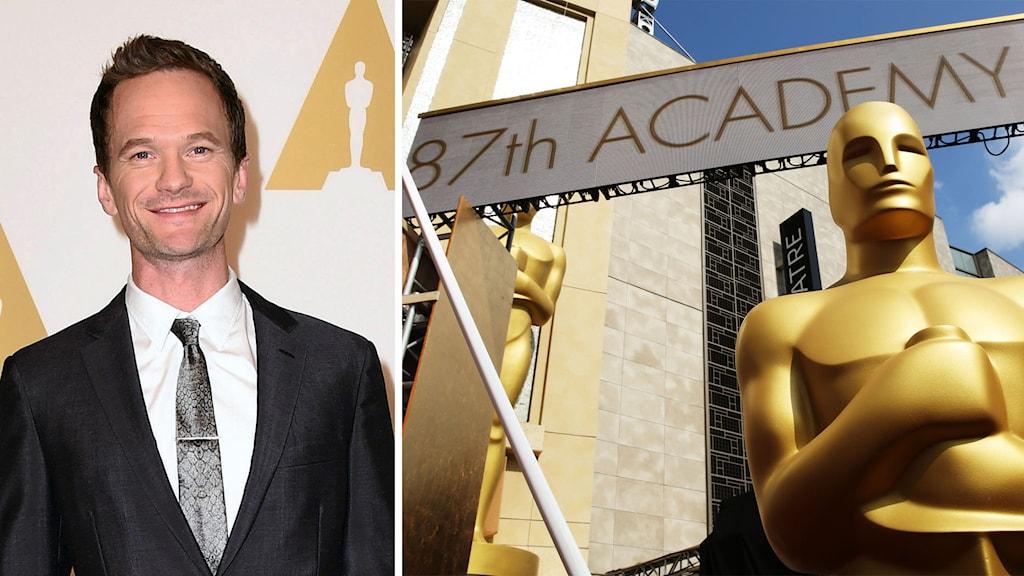 Neil Patrick Harris leder Oscarsgalan 2015. Foto: TT