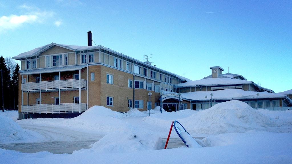 Hotell Tornedalia i Övertorneå. Foto: Nils Eklund / Sveriges Radio