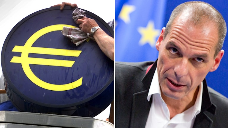 Greklands finansminister, Yanis Varoufakis. Foto: TT