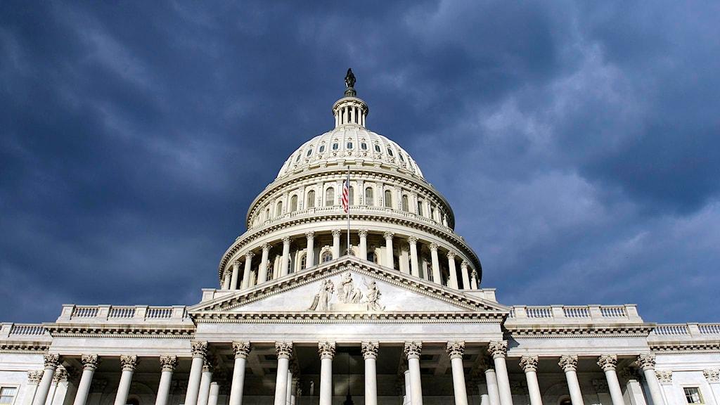 Capitoleum i Washington. Foto: Susan Walsh/TT.